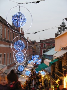 Venice decorated for the Christmas holidays (2009)