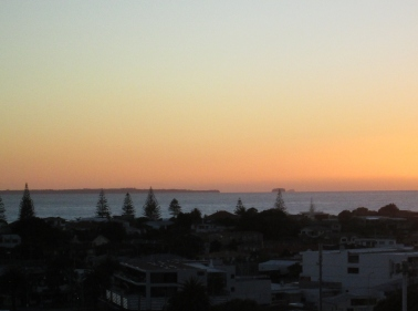 Sunrise over the port at Tauranga (2014, aka gringita)