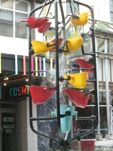 The Bucket Fountain, in Wellington's Cuba Square. (photo: aka gringita, 2014)