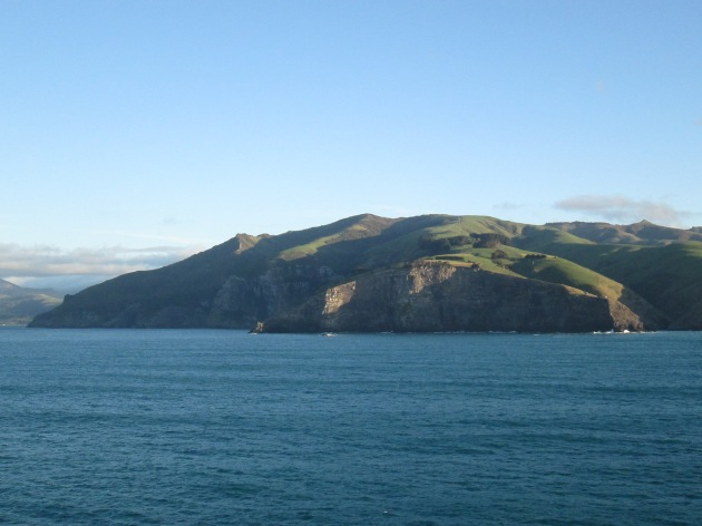 Anchored at Akaroa (photo: aka gringita, 2014)