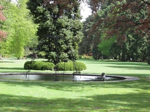 In the Christchurch Botanical Garden. (photo: aka gringita, 2014)