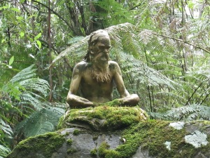 Sculpture in William Ricketts Sanctuary, Dandenong Ranges (photo: aka gringita, 2014)