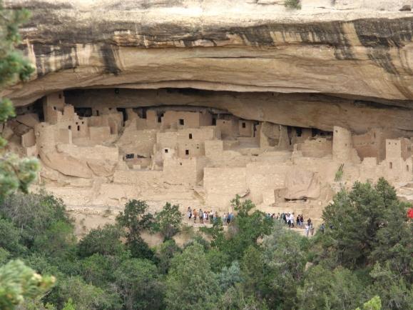 Cliff dwellings in Mesa Verde