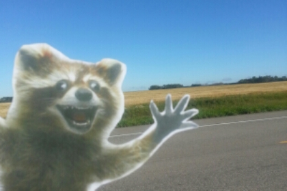 #wheresrory ? he and I are #furiouslyhappy crossing the plains provinces